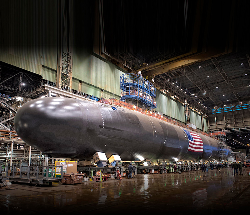 Subsafe Contractor — Nuclear Sub Manufacturing
